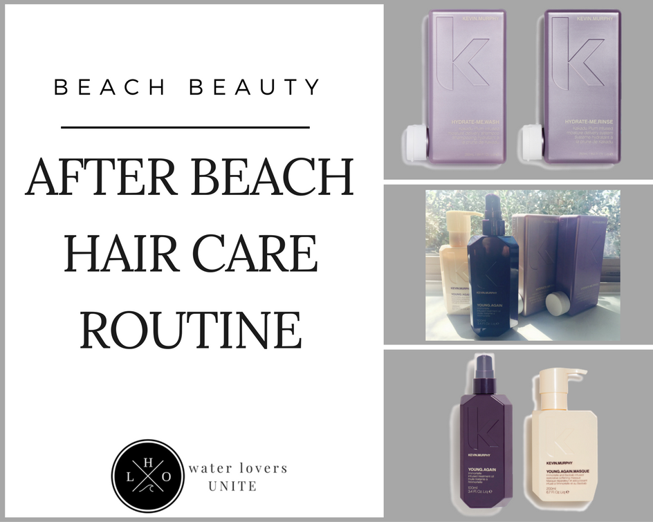 After Beach Hair Care Routine
