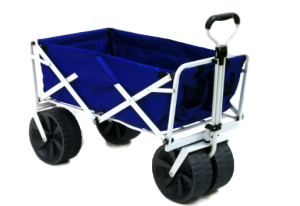 best folding beach cart with big wheels