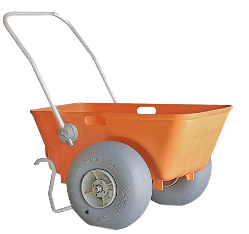 best folding beach cart for soft sand